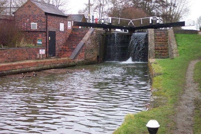 Lock Gates at Whilton Locks by Clive