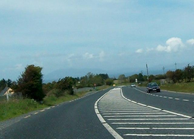 The N16 south of Munninane