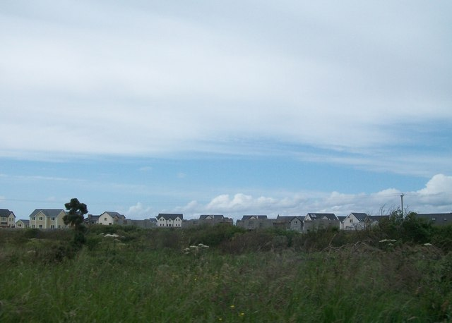 New housing developments in the West End area of Bundoran