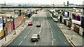 J3474 : Weir and cross-harbour bridges, Belfast (63) by Albert Bridge