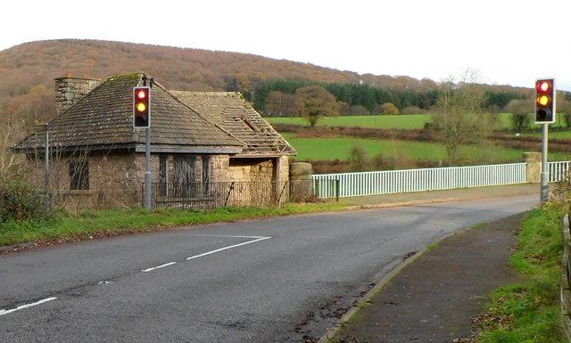 Former tollhouse on the western side of Bigsweir Bridge