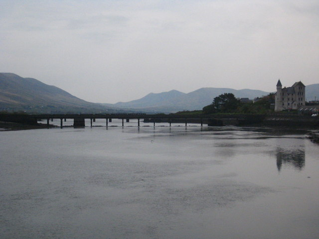 The harbour at Cahirsiveen