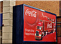 J3374 : Coca-Cola advertising, Belfast (2) by Albert Bridge