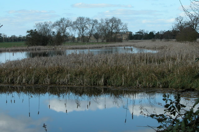 Croome River before restoration