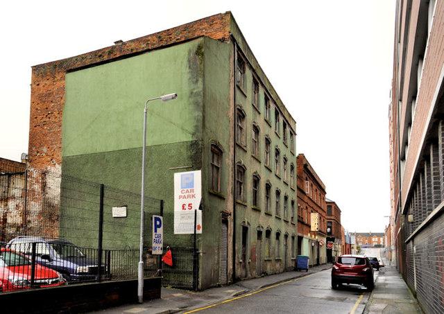 Vacant building, Belfast (2)