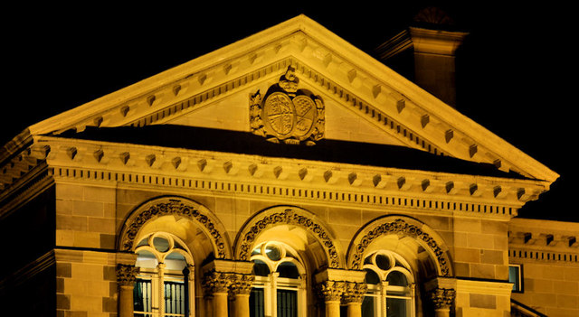 Portico, the Custom House, Belfast (2)