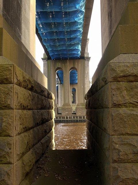 Under the King Edward VII Bridge