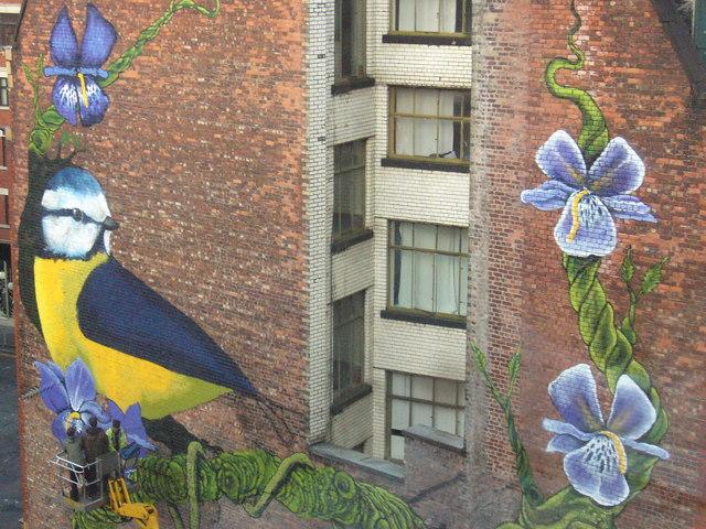 Street Art, Port St & Newton St. Manchester.