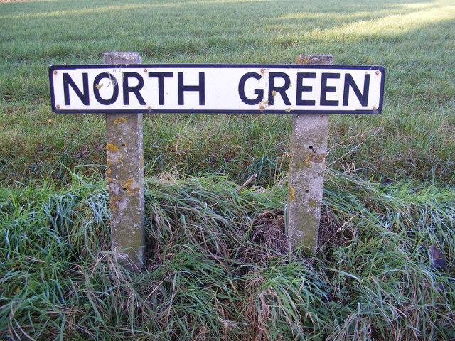 North Green sign