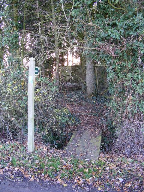 Footpath to Tongs Lane