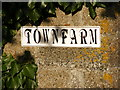 TM3076 : Town Farm sign by Adrian Cable