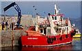 L7480 : The Clare Island ferry, Co Mayo by Albert Bridge