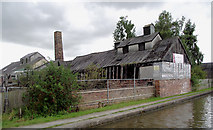 SJ6775 : Former Lion Salt Works at Marston, Cheshire by Roger  Kidd