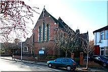 TQ3068 : St Philip, Beech Road, Norbury by John Salmon