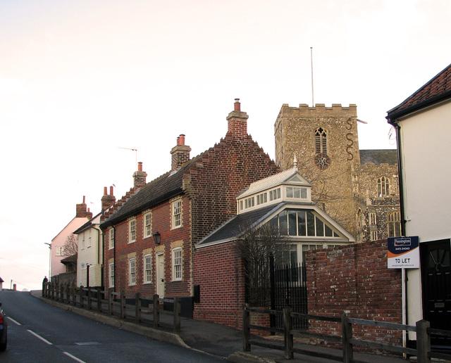 The church of St Mary Magdalene, Debenham
