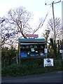 TM2878 : Wakelyns Farm Stall on Wood Road by Adrian Cable