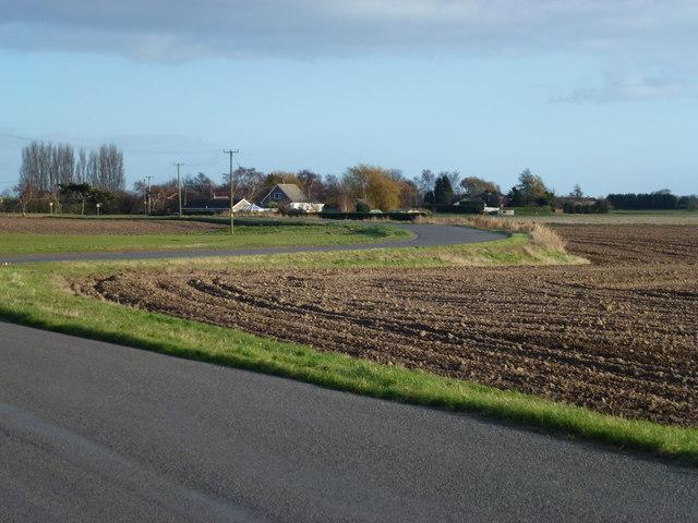 Roman Bank looking towards Gedney Dyke