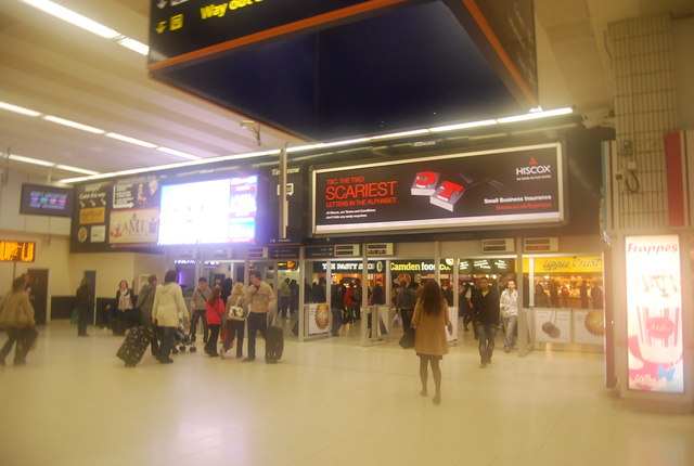 In New Street Station