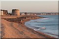 TQ6402 : Beach at Sovereign Harbour by Oast House Archive