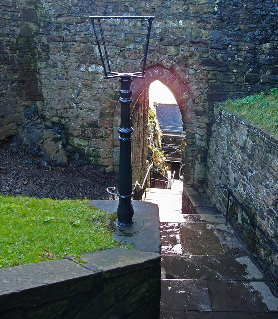 Portcullis Arch, Dumbarton Rock