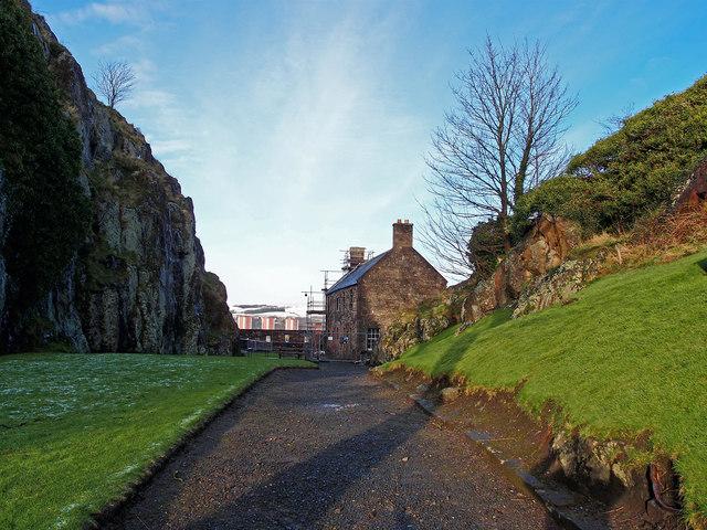 French Prison, Dumbarton Rock