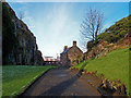 NS3974 : French Prison, Dumbarton Rock by wfmillar