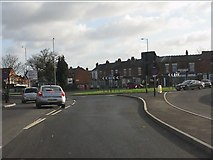 SP1285 : New roundabout on Church Road by Peter Whatley