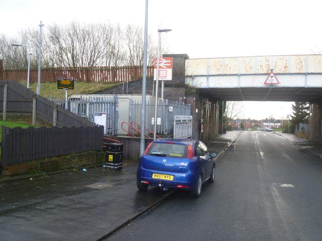 Hag Fold Railway Station