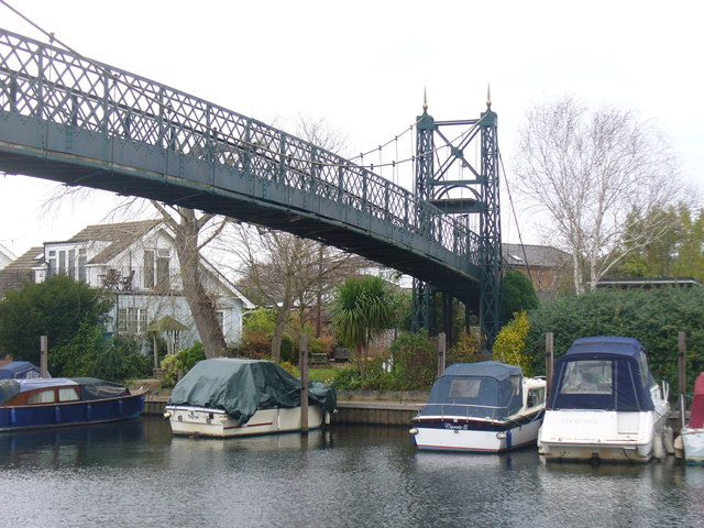 Thames Ditton Island Footbridge