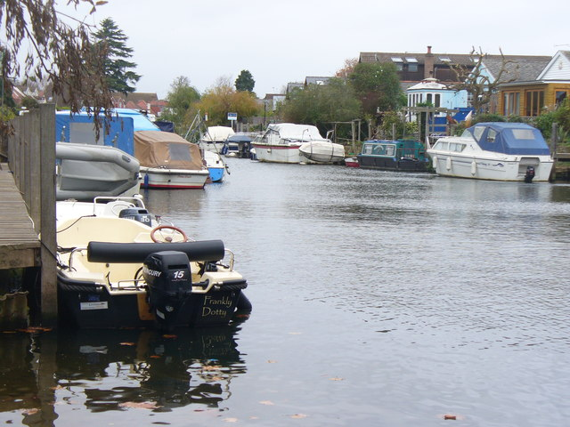 The River at Thames Ditton