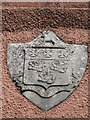SX9272 : Coat of Arms, Ringmore Towers by Robin Stott