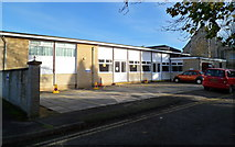 ST8558 : St James church hall and parish office, Trowbridge by Jaggery