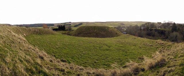 Motte & Bailey Castle, Elsdon