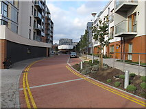 TQ1883 : Atlip Road extended through Alperton Village by David Hawgood