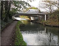 TQ1983 : Bridge 10, Paddington Branch, Grand Union Canal - Abbey Road by David Hawgood