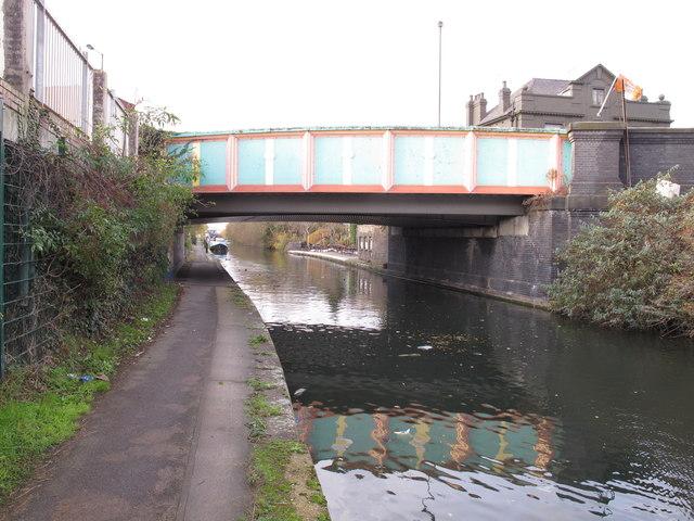 Bridge 9 Paddington Branch Grand Union Canal