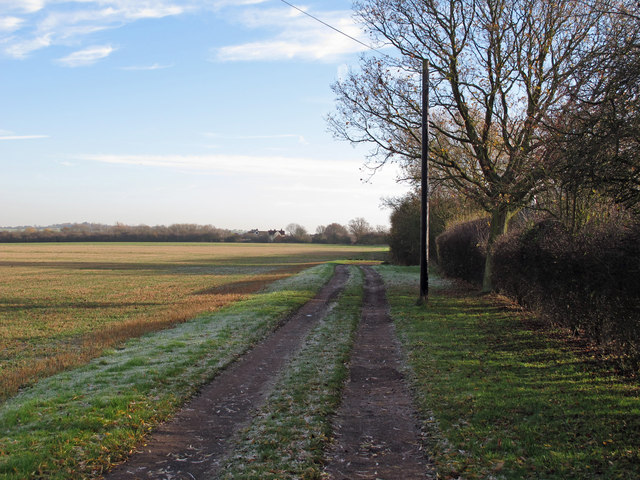 Track to Rectory Road