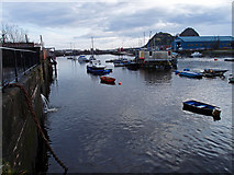 NS3975 : River Leven, Dumbarton by wfmillar