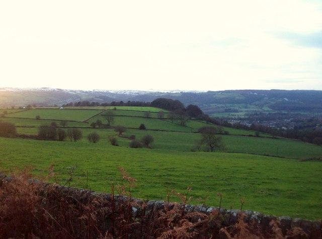 Arable Grassland near Upper Hackney