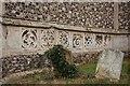 TM1065 : St Mary, Mendlesham - Stonework by John Salmon