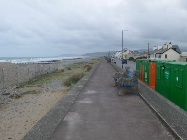 Rather a bleak day in Borth