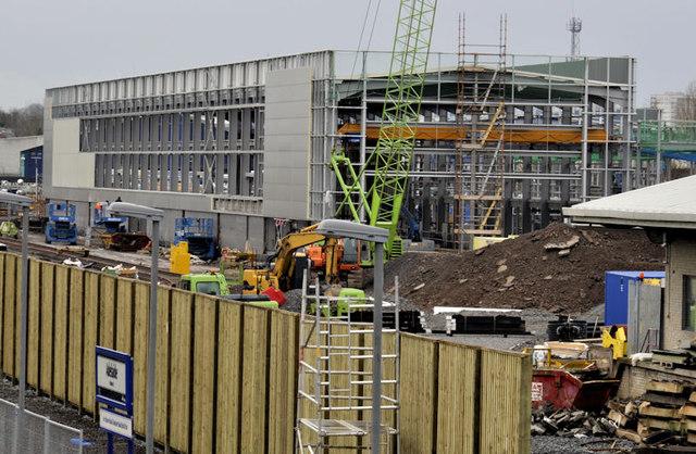 New train maintenance depot, Belfast (23)