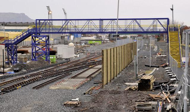 New train maintenance depot, Belfast (25)