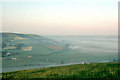 TQ4408 : Early morning view from Mount Caburn, 1977 by Robin Webster