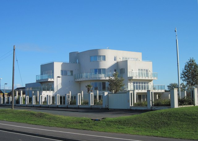 Art Deco style modern house, West Auckland Road, Bishop Auckland