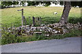 SD9187 : Footpath stile on Marsett Lane by Roger Templeman