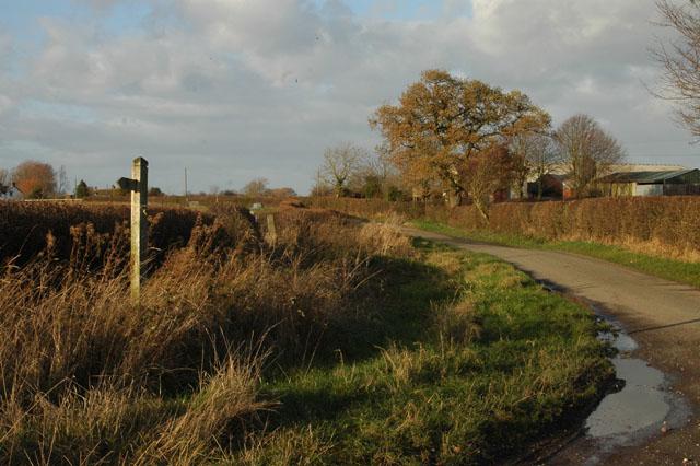 Woolaston Lane to Church Eaton