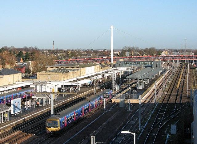 Downham Market Railway Station Car Park