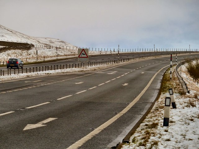 Side Wind on the A66