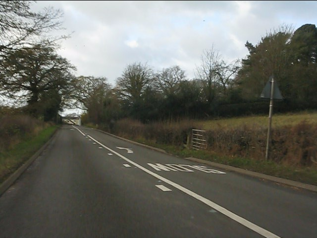 A51 east of Blackbrook